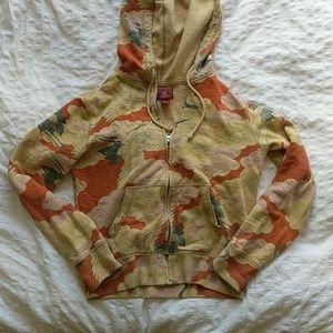 Luck Brand Japanese Crane Sweatshirt - S